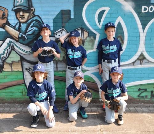 Domstad Dodgers Beeball Majors